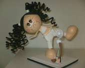 BONECA 3D CAPOEIRISTA