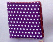 Porta absorventes Roxo/Laranja