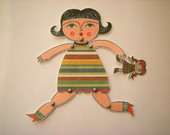 JULIETA - PAPER DOLL BY CAROL W