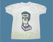 T-Shirt Beb e Infantil SHAKE ME