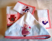 Kit banho Sunbonnet