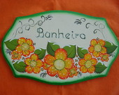 Placa Porta Banheiro