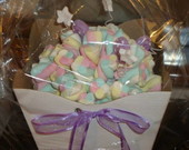 Buqu� de marshmallows lil�s