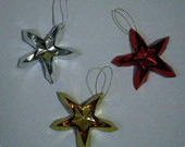 Estrelas de origami