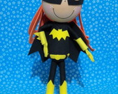 BONECA 3D BATGIRL (Batman)