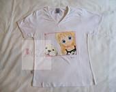 Camisetas e Baby Looks pintadas � m�o