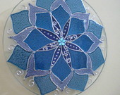 MANDALA ESTELAR AZUL