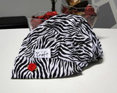 Touca cir�rgica Zebra fashion!