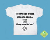 T-Shirt Beb EU QUERO FRIAS!