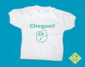 T-Shirt Beb e Infantil CHEGUEI!