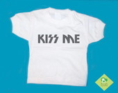 T-Shirt Beb e Infantil KISS ME