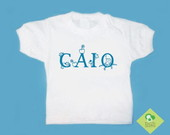 T-Shirt Beb e Infantil C/ NOME Q QUISER