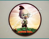 Quadro redondo CHICKEN LITTLE