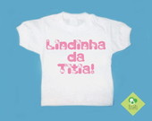 T-Shirt Beb e Infantil Tia Hello Kitty