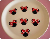 Aplique Minnie Mouse Bolinhas (A32)