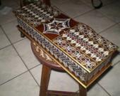 caixas estilo marroquino