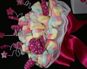 Buqu� de marshmallows pink