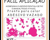 Adesivo papel de Parede Infantil KIT 3B