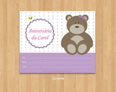 Kit 005 - Festa Urso