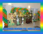 DECORAO COMPLETA MADAGASCAR