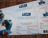 Convite Ingresso