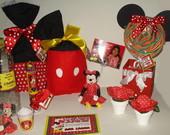 Convites Minnie e Mikey!