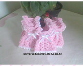 MINI VESTIDINHO EM CROCH 6X4 CM