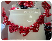 VARAL DECORATIVO  VARAL DO AMOR!