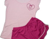 Sleepwear em po Mother&#39;s Heart rosa