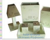 KIT HIGIENE INFANTIL MINI FAZENDA
