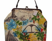 Bolsa Grande estampada  RIO
