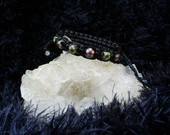Pulseira Shambala com Cloisonn
