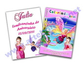Revista personalizada Barbie Borboleta