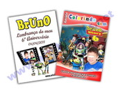 Revista colorir personalizada Toy Story