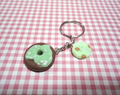 Chaveiro Donuts Verde