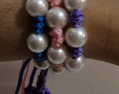 Pulseira Decenrio/ Glamur (kit com 3)