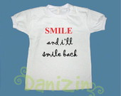 T-Shirt Beb e Infantil SMILE