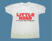 T-Shirt Beb� e Infantil LITTLE NERD