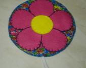 Marcador de página - Flor