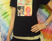 Camiseta Beatles Love and Peace