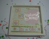P�ginas de Scrapbooking - It's a Girl