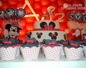 Cupcake decorado - Festa Minnie