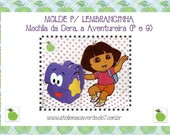 MOLDE PARA MOCHILA DA DORA