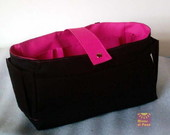 Organizador GG Preto/Pink