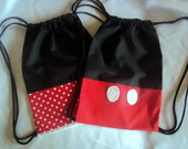 Lembrancinha mochila mickey e minnie