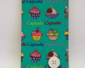 CADERNETA DE TELEFONES CUPCAKE VERDE