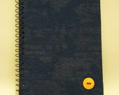 CADERNO ESPIRAL M JEANS