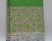 CADERNO ESPIRAL M PATCH VERDE II