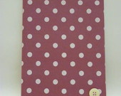 CADERNO BROCHURA M ROSA CONFETI