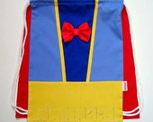 Mochila Infantil Branca de Neve